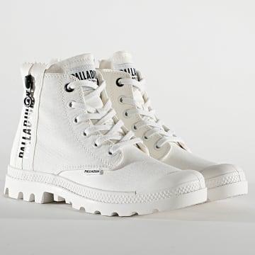 Palladium - Boots Femme Pampa Hi Twill 97084 Star White