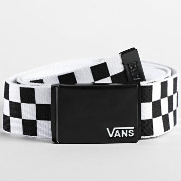 Vans - Ceinture Deppster II Noir Blanc