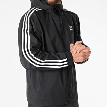 Adidas Originals - Coupe-Vent A Capuche 3D Windbreaker GN3551 Noir
