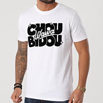 Booshra Et Mamad - Tee Shirt Choubidouwawa Blanc