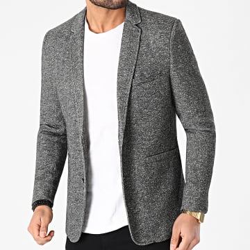 Only And Sons - Veste Blazer Matti King Casual Gris Anthracite Chiné