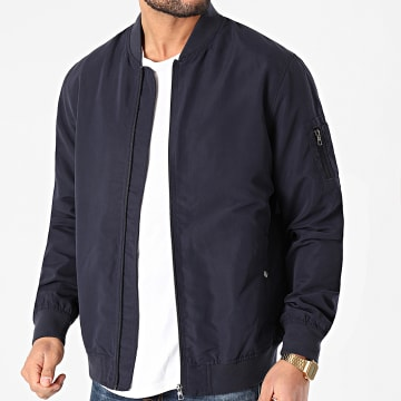 Only And Sons - Bomber Jack Bleu Marine
