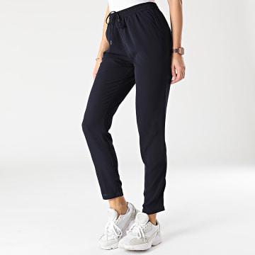 Only - Pantalon Femme Nova Lux Bleu Marine