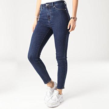 Only - Jean Skinny Femme Option Life Bleu Brut