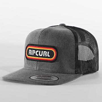 Rip Curl - Casquette Trucker CCADN9 Gris Chiné Noir