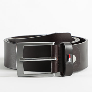 Tommy Hilfiger - Ceinture Adan Leather Adjustable 7320 Marron