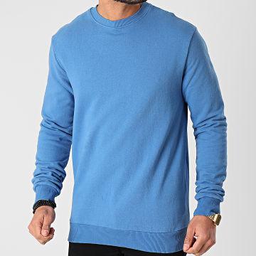Uniplay - Sweat Crewneck UY558 Bleu Azur