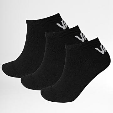 Vans - Lot De 3 Paires De Chaussettes XS0 Noir