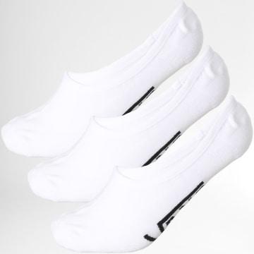 Vans - Lot De 3 Paires De Chaussettes Invisibles XTT Blanc