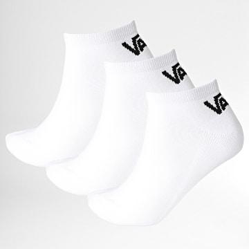Vans - Lot De 3 Paires De Chaussettes XS0 Blanc