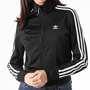 Adidas Originals - Veste Zippée Femme A Bandes Firebird GN2817 Noir