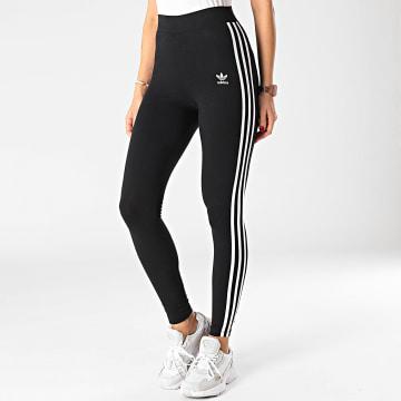 Adidas Originals - Legging Femme A Bandes 3 Stripes GN4504 Noir
