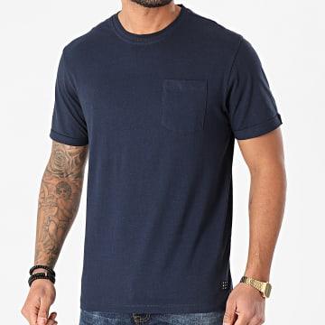 Blend - Tee Shirt Poche 20711715 Bleu Marine