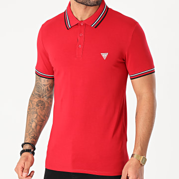 Guess - Polo Manches Courtes M1RP66-J1311 Rouge