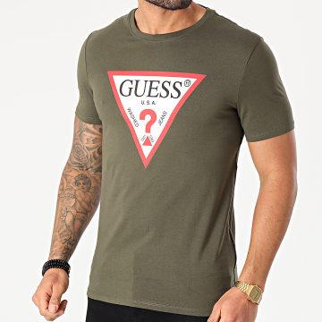 Guess - Tee Shirt M1RI71-I3Z11 Vert Kaki