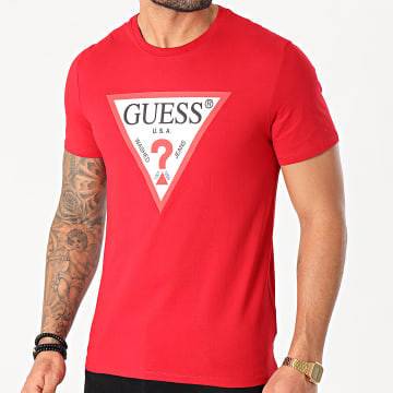 Guess - Tee Shirt M1RI71-I3Z11 Rouge