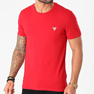 Guess - Tee Shirt M1RI24-J1311 Rouge