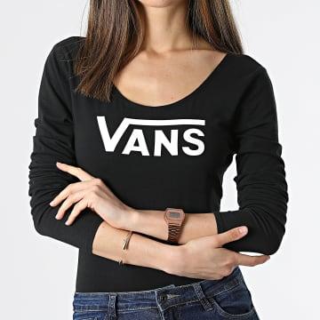Vans - Body Tee Shirt Manches Longues Femme Classic V A4BEFBLK1 Noir