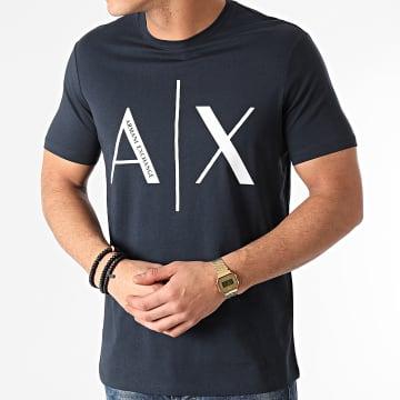 Armani Exchange - Tee Shirt 3KZTAG-ZJ4KZ Bleu Marine