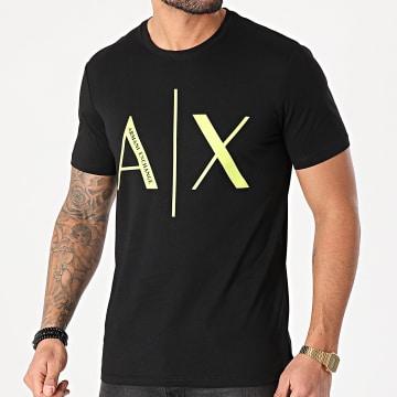 Armani Exchange - Tee Shirt 3KZTAG-ZJ4KZ Noir Vert