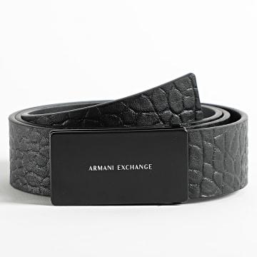 Armani Exchange - Ceinture Réversible 951259 Noir
