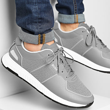 BOSS - Baskets Titanium Runner 50452025 Medium Grey
