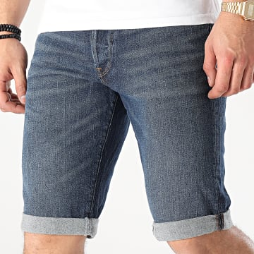 G-Star - Short Jean 3301 D17417-C529 Bleu Denim