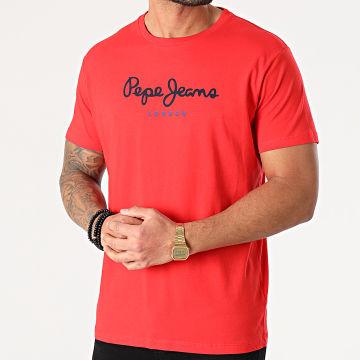 Pepe Jeans - Tee Shirt Eggo Rouge