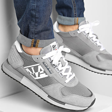 Napapijri - Baskets Virtus NA4ERY Dark Grey Solid