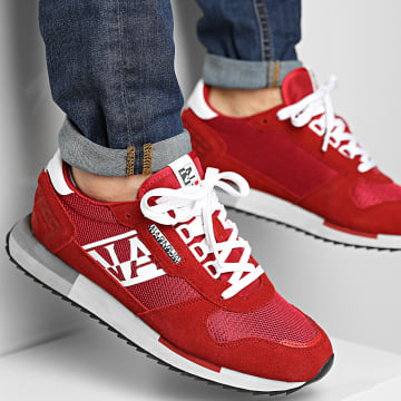 Napapijri - Baskets Virtus NA4ERY Cherry Red