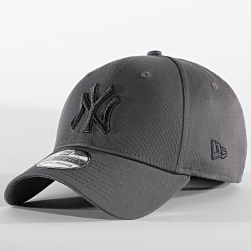 New Era - Casquette Fitted 39Thirty League Essential 60112577 New York Yankees Gris