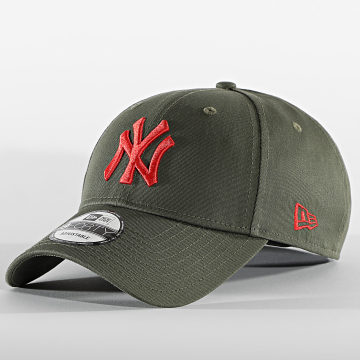 New Era - Casquette 9Forty League Essential 60112606 New York Yankees Vert Kaki