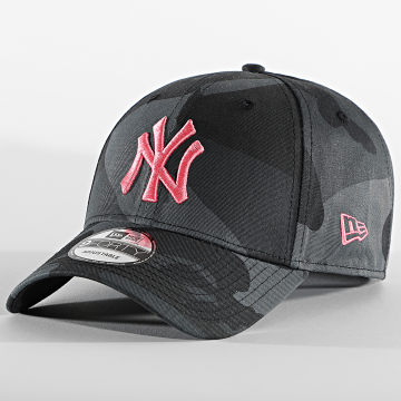 New Era - Casquette 9Forty All Over Camo 60112614 New York Yankees Noir