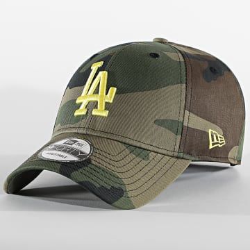 New Era - Casquette 9Forty All Over Camo 60112616 Los Angeles Dodgers Vert Kaki