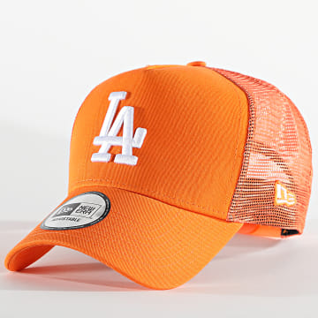 New Era - Casquette Trucker Tonal Mesh 60112705 Los Angeles Dodgers Orange