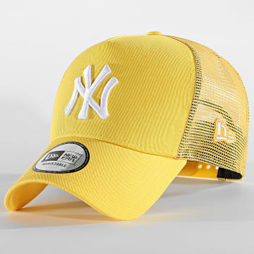 New Era - Casquette Trucker Tonal Mesh 60112706 New York Yankees Jaune