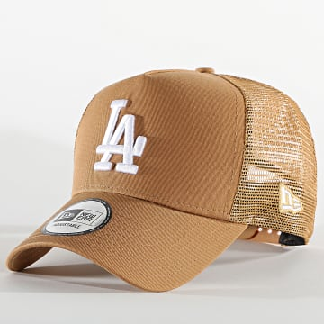 New Era - Casquette Trucker Tonal Mesh 60112709 Los Angeles Dodgers Camel