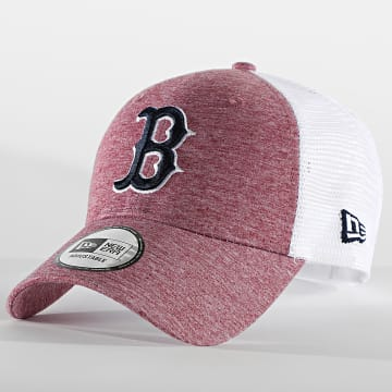 New Era - Casquette Trucker Home Field 60112711 Boston Red Sox Bordeaux Chiné