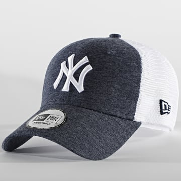 New Era - Casquette Trucker Home Field 60112712 New York Yankees Bleu Marine Chiné