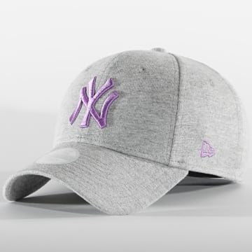 New Era - Casquette Femme 9Forty Jersey Essential 60112727 New York Yankees Gris Chiné