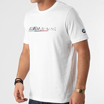 Puma - Tee Shirt BMW MMS Logo 599529 Blanc