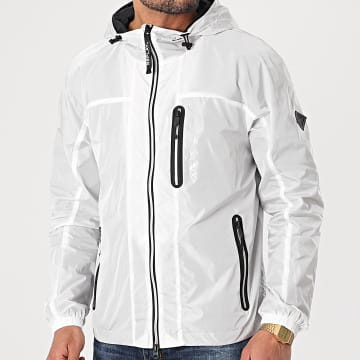 Replay - Coupe-Vent Capuche M8136-84050 Blanc