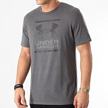 Under Armour - Tee Shirt UA GL Foundation 1326849 Gris Anthracite Chiné