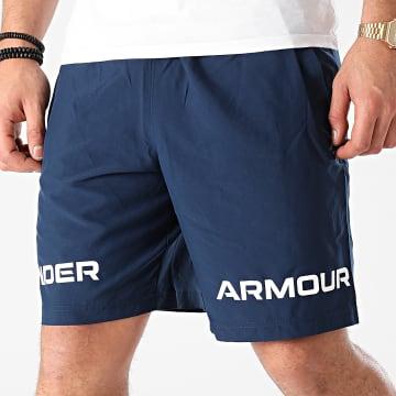 Under Armour - Short Jogging 1361433 Bleu Marine
