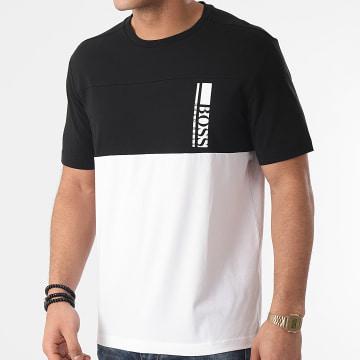 BOSS - Tee Shirt 50447935 Blanc Noir