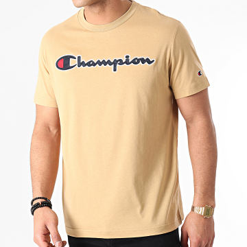 Champion - Tee Shirt 214194 Beige