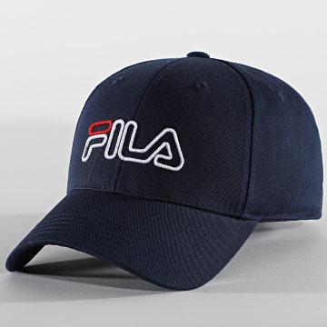 Fila - Casquette Outline Logo Strapback 686132 Bleu Marine