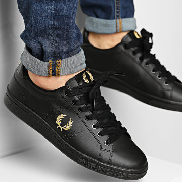 Fred Perry - Baskets B1251 Leather Black