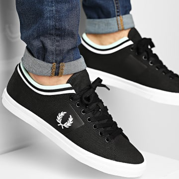 Fred Perry - Baskets B7106 Black