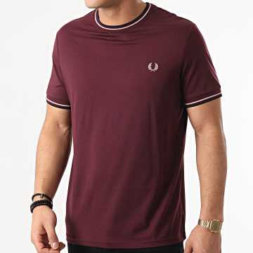 Fred Perry - Tee Shirt M1588 Bordeaux